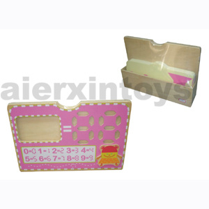Wooden Educational Toy of Addition Set with Cards pictures & photos