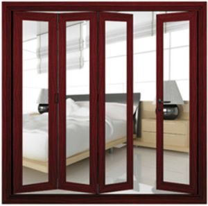 Folding Glass Doors with Double Glazing (pH-8815) pictures & photos