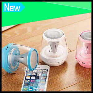 Portable Wireless Mini Bluetooth LED Light Speaker with USB Charger pictures & photos