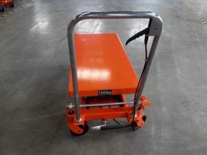 Safety Brake Wheel Scissor Lift Platform pictures & photos