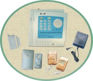 Wireless Intelligent Burglar Alarm System (ATS-301)