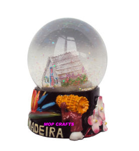 Polyresin Madeira Snowglobe Souvenir, Resin Snow Globe pictures & photos