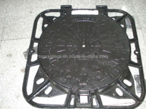 Manhole Cover With Frame 850x850 D400 (1)