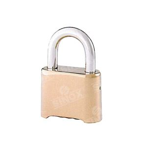 Brass Dials Resettable Combination Hardware Lock Heavy Duty with Hardened Shackle pictures & photos