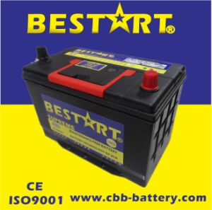 12V90ah Premium Quality Bestart Mf Vehicle Battery JIS 30h90L-Mf pictures & photos