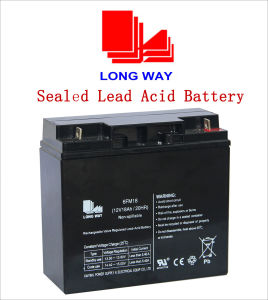 12V18ah Equipment Battery Rechargeable Lead Acid Battery pictures & photos
