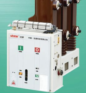 12kv Zw10-12 Outdoor Hv Double Power Mutual Throw Device Circuit Breaker pictures & photos