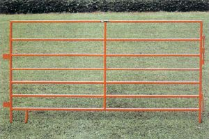 Easily Installed Livestock Panels