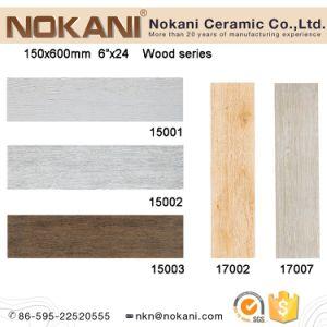 150X600mm Wooden Designs Bedroom Tiles for Floor pictures & photos