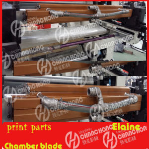 Printing Machine with Chamber Doctor Blade Parts pictures & photos