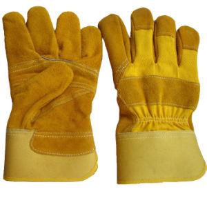 Welding Glove (HJ-1506 YELLOW)