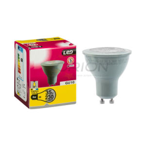 High Efficiency Spotlight 5W GU10 Dimmable LED Bulb pictures & photos