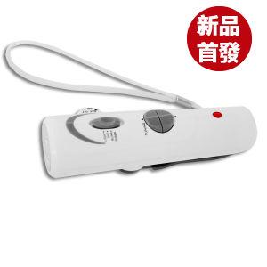 Mini Hand Crank Radio LED Torch (FM + Red Flicking & Siren)