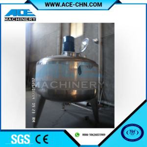 100L Sanitary Stainless Steel Electric Heating Cosmetics Mixing Tank pictures & photos