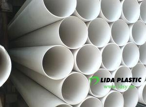 PVC White Pipe pictures & photos