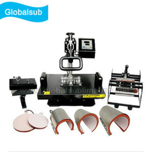 8-in-1 Heat Press Multifunction Press Machine with Shirts pictures & photos