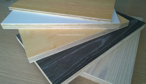 18mm A Grade Melamine Faced Plywood pictures & photos