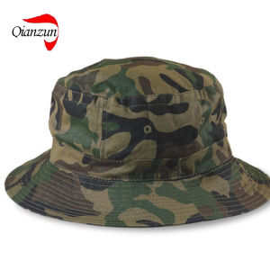 Camo Bucket Cap Hat New (QZ-LW-026) pictures & photos