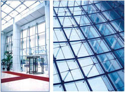 Aluminium Frame Glazing Curtain Wall /Unitized Glass Curtain Wall pictures & photos