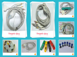Compatible with Nihon Kohden ECG Can; E 10 Lead EKG Cable and Lead Wires pictures & photos