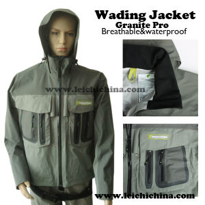 Stock Available Waterproof Breathable Fishing Wading Jacket pictures & photos