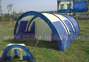 3-4 Persons Arcuate Family Camping Tent (Nug-T48)