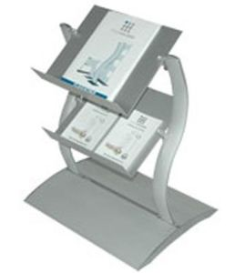 Aluminum Freestanding Magazine Stand pictures & photos