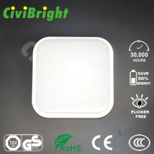 IP64 10W Square Smooth Curved Damp-Proof LED Ceilinglight with GS pictures & photos