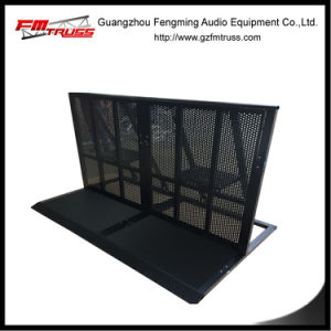 Black Color Aluminum Barrier Structure for Indoor Event Usage pictures & photos