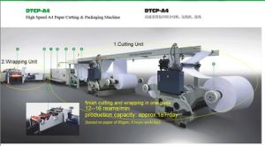 A4 Copy Paper Cutting & Packing Machine (DTCP-A4)
