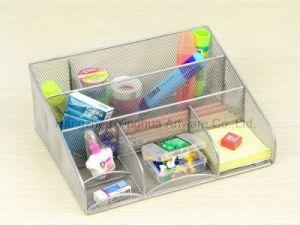 Wire Mesh Storage Box, Silver (YH3123282S)