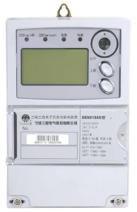 Three-Phase Four-Wire / Three-Phase Three-Wire GPRS Multi-Function Static Meter