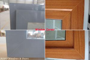Wood Color Front Door Designs, Beautiful PVC Front Door pictures & photos