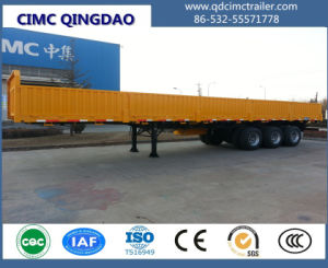 Cimc Cargo Semi-Trailer with Double-Axle / Tri-Axles Truck Chassis pictures & photos