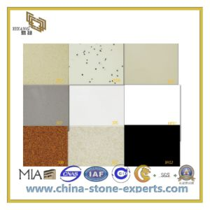 Polished Artificial Stone Quartz for Flooring/Wall (YQC) pictures & photos