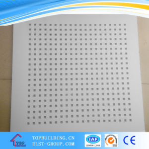Sound Absorption Perforated Gypsum Board/ Plasterboard/Drywall Board pictures & photos