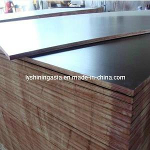 18mmx1220X2440 Printed Poplar Core WBP Glue Brown Film Faced Plywood
