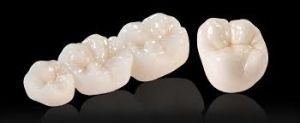 Dental Full Contour Zirconia Crown pictures & photos