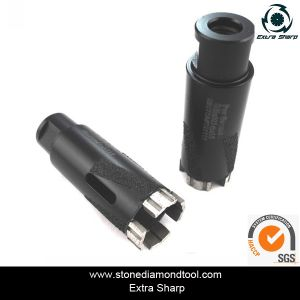 Turbo Brazed Core Drill for Granite/35mm Drilling Bit pictures & photos