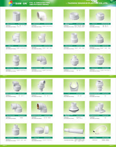 Higher Volumes&Quality PVC Female Reducing Coupling (C09) pictures & photos