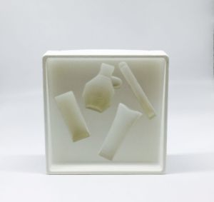 Plastic Blister Packing for Cosmetic Flocking Box pictures & photos