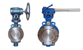 Metallic Seal Wafer Type Butterfly Valves pictures & photos