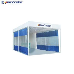 Excellent PVC Curtain Applied Car Paint Booth (PC-500D) pictures & photos