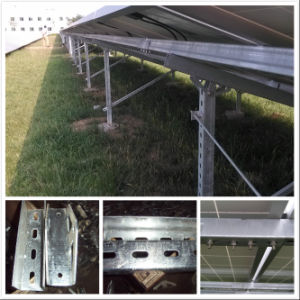 Solar Panel Bracket for Concrete Pile pictures & photos
