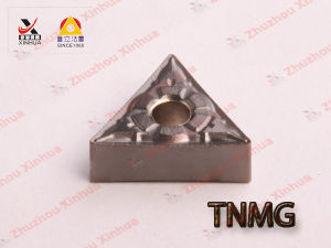 Cermet Turning Inserts Triangle Cemented Carbide Inserts Tnmg160404 pictures & photos