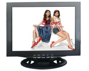 17 Inches Ultra Low Power High Brightness (600nits) LED CCTV Monitor