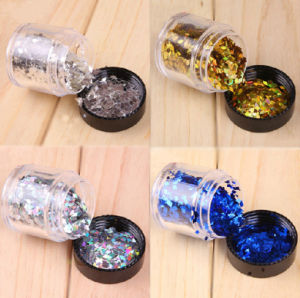 10g Jar Nail Decoration Nail Dazzling Rhombus Design Nail Beauty pictures & photos