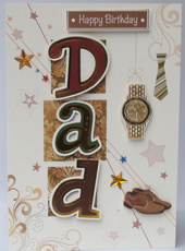 Handmade Father′s Greeting Cards