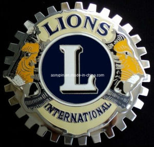 Grille International Lions Car Emblem Badge pictures & photos