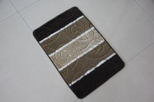 PP Jacquard Bath Rugs, Leaf Pattern pictures & photos